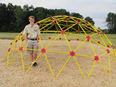 New Lothrop senior receives Eagle Scout status