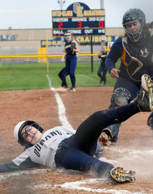 SOFTBALL: Durand doubles up Ovid-Elsie