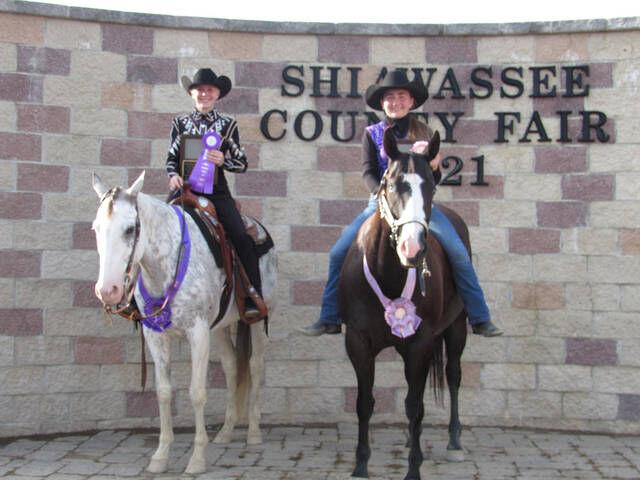 Youth horse winners announced Thursday at fair