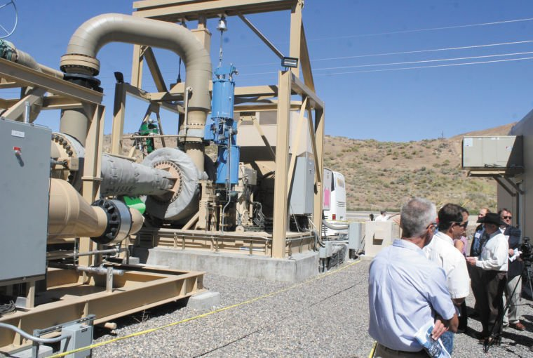 Vale geothermal plant has its grand opening
