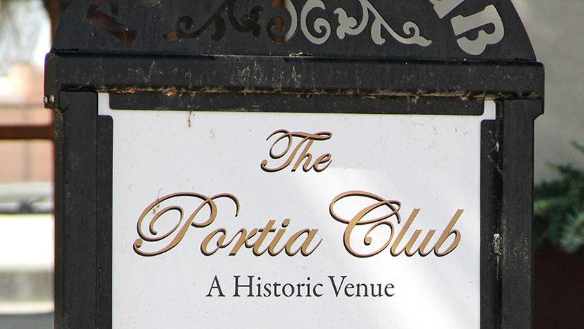 Portia Club closes: Foundation forces group to temporarily close historic meeting place until repairs are made