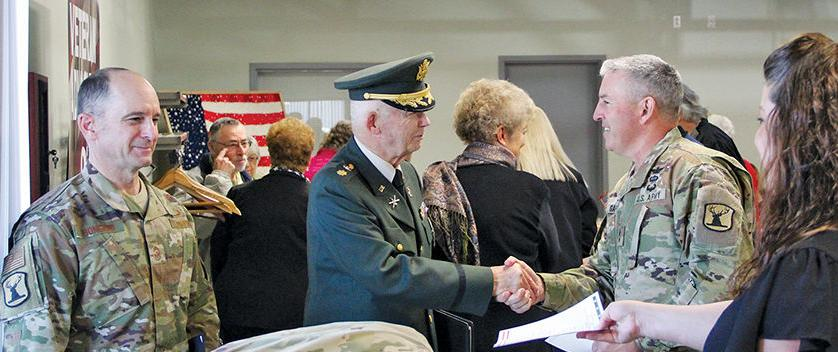 Local veteran Gerald 'Jerry' Haines 'one of those special people'