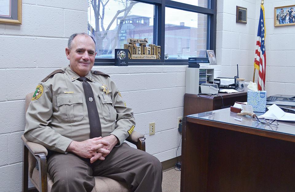 Malheur County Sheriff Brian Wolfe