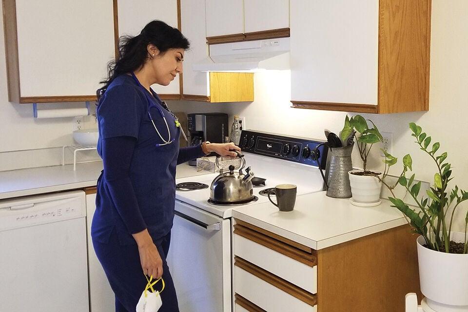 Janet Munoz at home