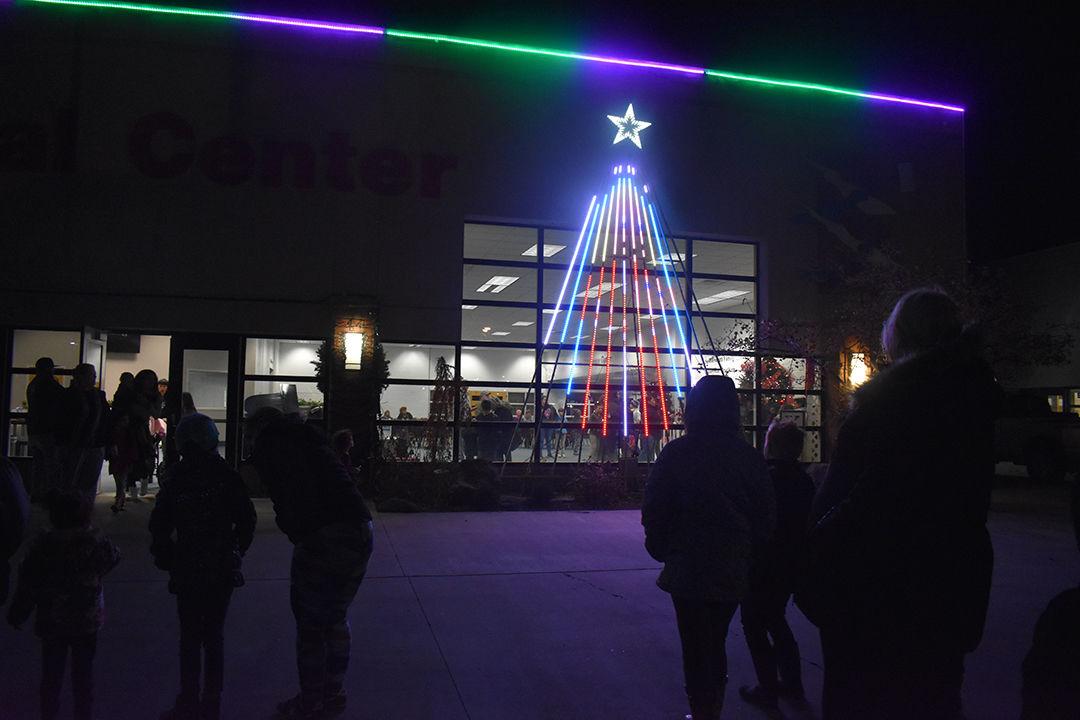 Cultural Center tree lighting