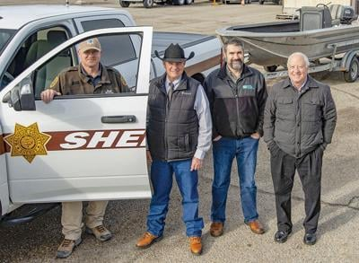 Utility company gives used boat to Malheur County Sheriff's Department