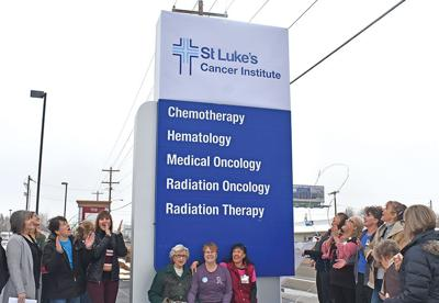 St. Luke's cancer care facility gets new name