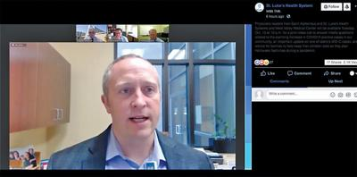 Physician leaders hold joint virtual media forum