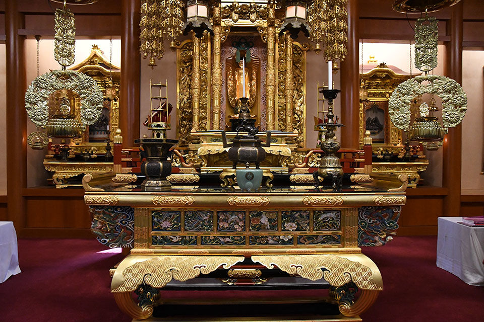 Idaho-Oregon Buddhist Temple ornate