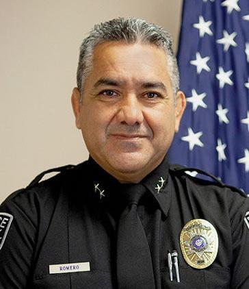 Ontario Police Chief Steven Romero