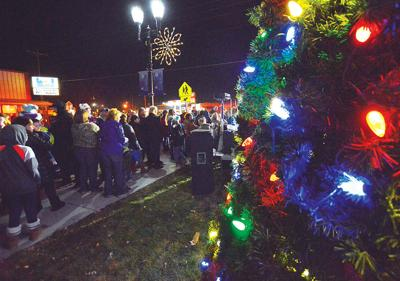 City of New Plymouth will ring in Christmas tonight