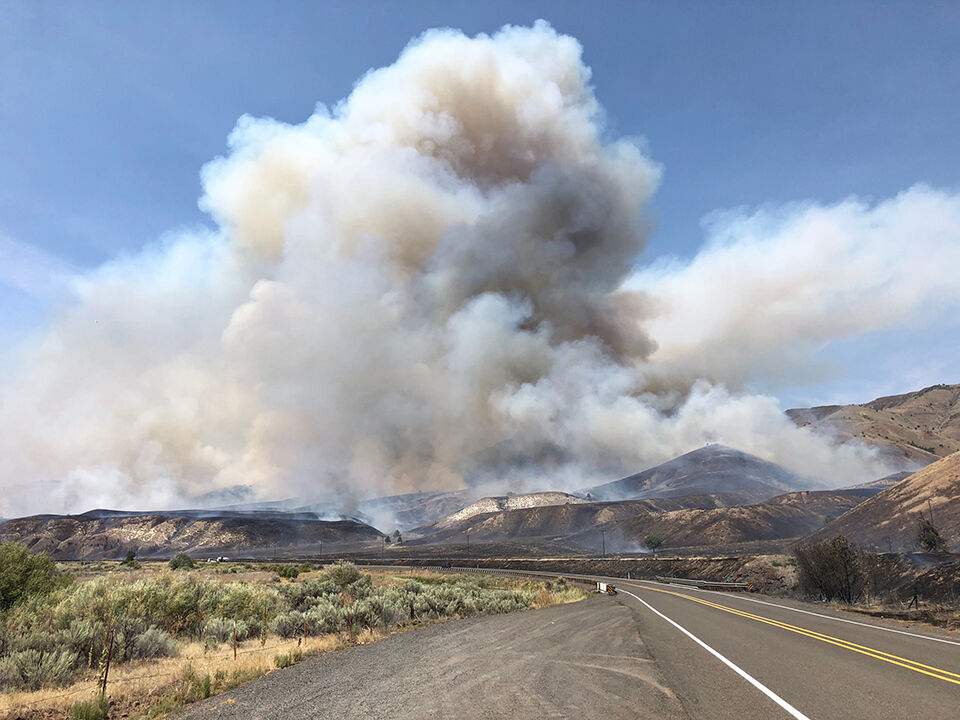 Blaze near Juntura grows to 9,000 acres