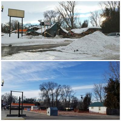 A year of progress at VFW Hall site