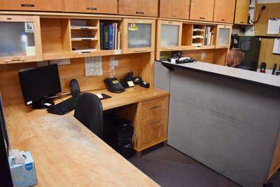 Fruitland police desks