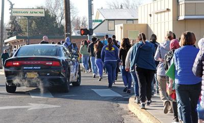 Gas leak causes neighborhood evacuation