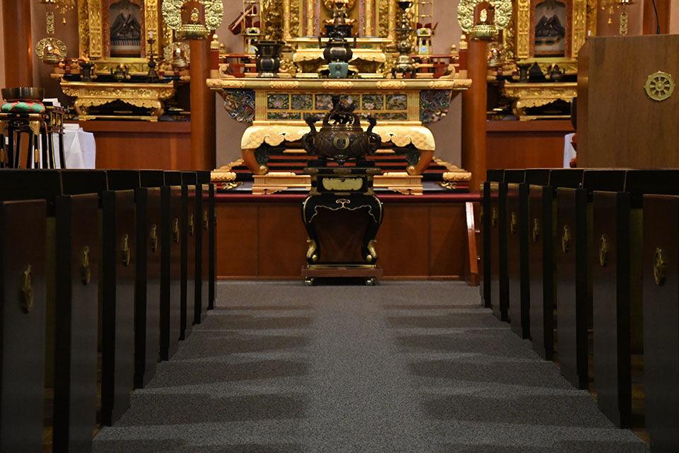 Idaho-Oregon Temple pews