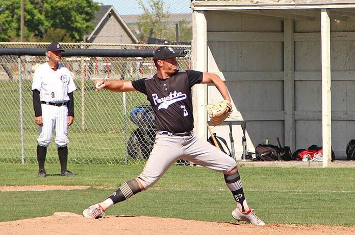 Payette High School Baseball team's senior pitcher Kodee Bennett