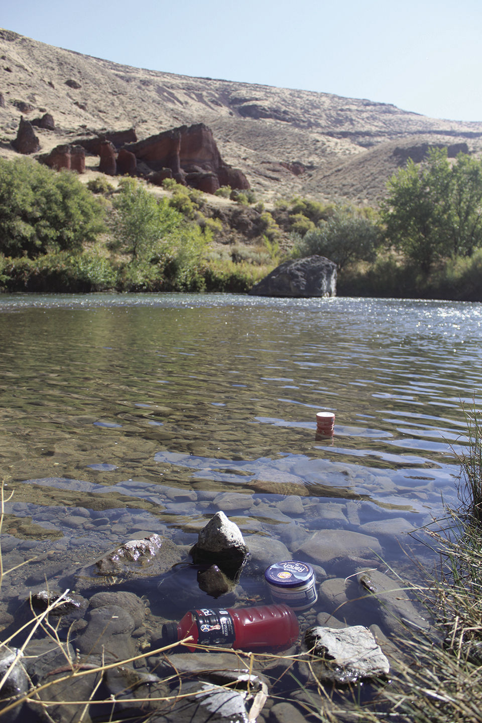 Plastics in the wild: 'Eventually the plastic that enters the Owyhee [River] will enter the ocean'