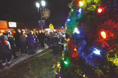 Tree lighting attendee looks forward to 'a family tradition'