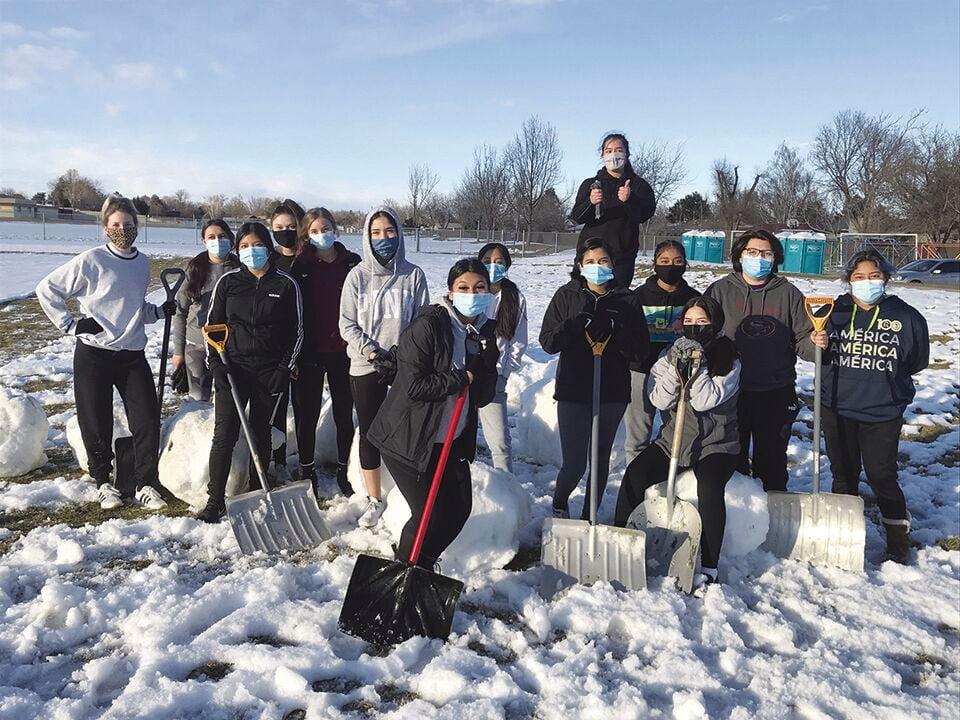 Tigers clear snow off fields: Ontario High School soccer teams gear up for short season