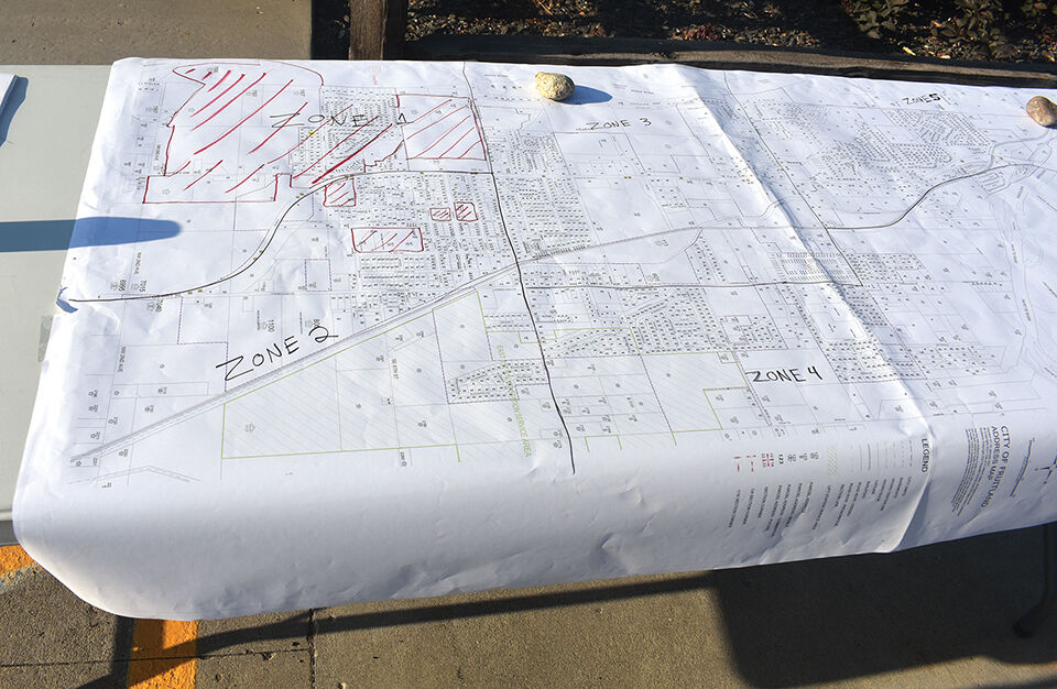 Mapping out the search area