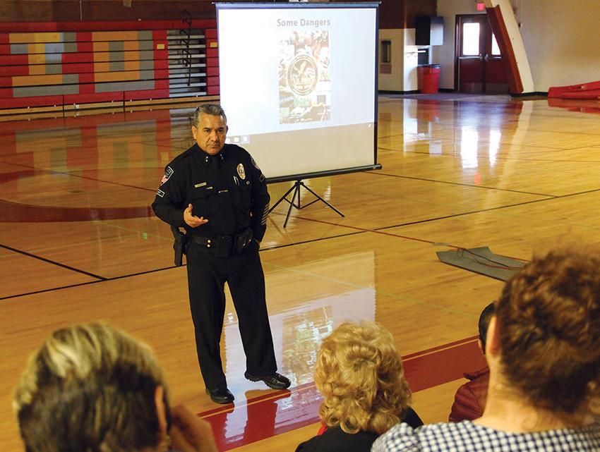 Ontario Police Chief hosts drug education seminar for Tiger parents