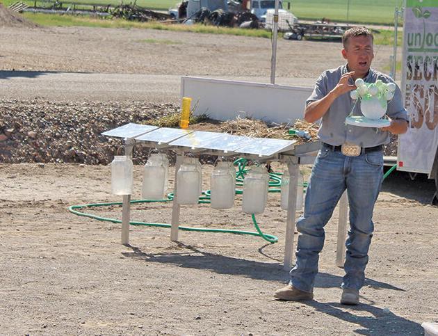 Conservation expert talks 'keys to healthy soil'