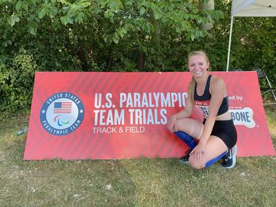 Taylor Talbot Paralympic Trials
