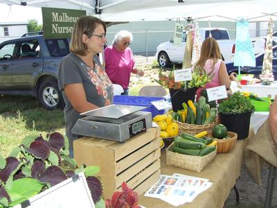Numbers up at farmers' market