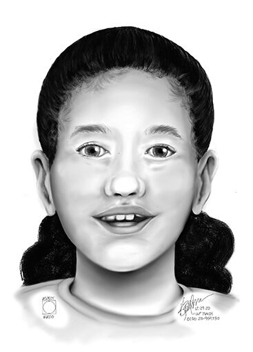 Oregon State Police release sketch of child whose body was found in forest