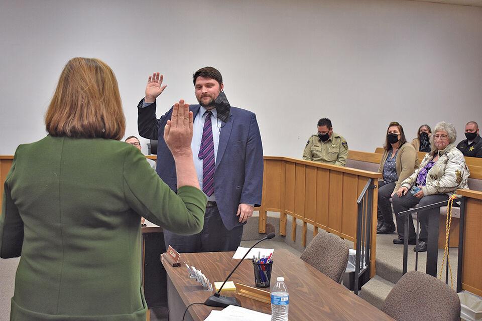 County leaders take office oaths