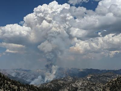 Fire managers confine wildfire to areas within Eagle Cap