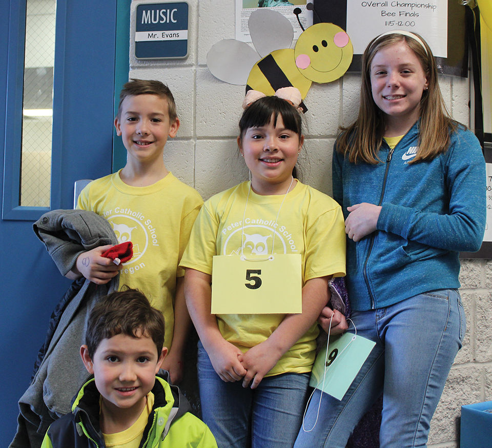St Peter Catholic School Spelling Bee