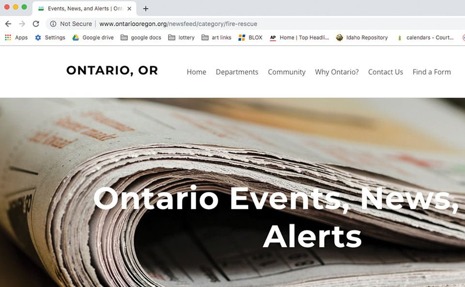 City of Ontario Officials quickly 'secure' website by fixing minor security flaw