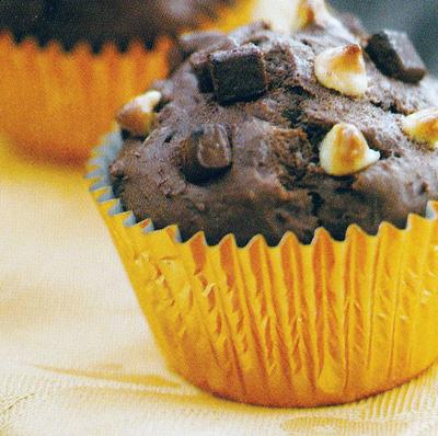 Try these mouthwatering Triple Chocolate Muffins