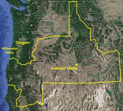Greater Idaho proposal