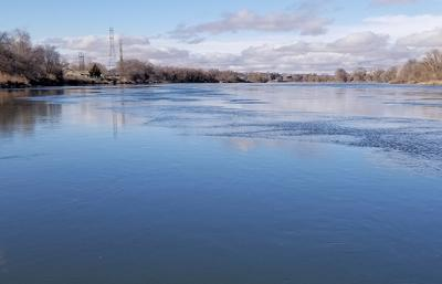 Biosolids removal begins at wastewater treatment plant
