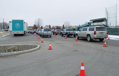 Free COVID testing near TVCC baseball fields on Mondays