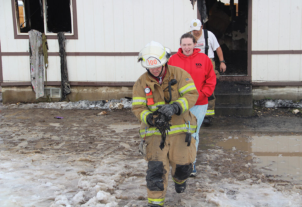 Fire rips thru home on Thursday. Family is safe but pet dies; friend sets up fundraiser