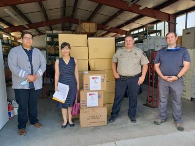 Large donation of face coverings will help schools