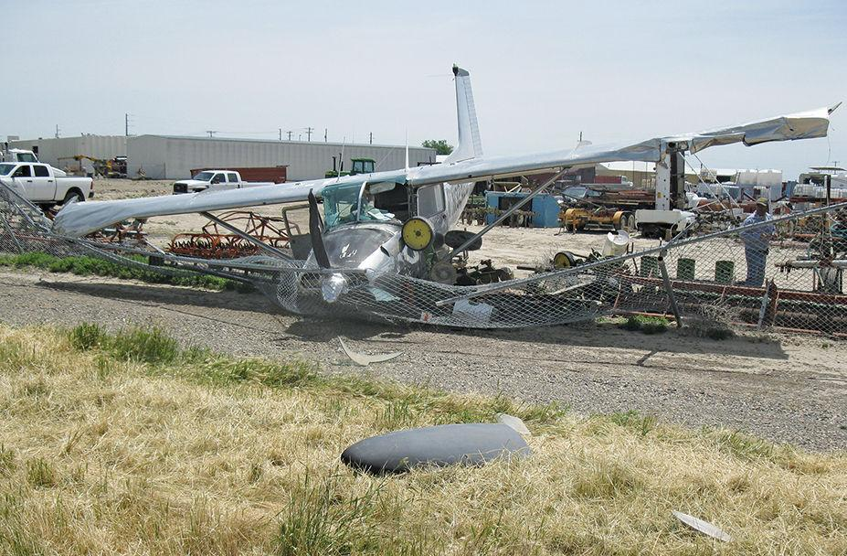 Plane crashes near Ontario Municipal Airport after running out of fuel