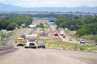 Traffic on I-84