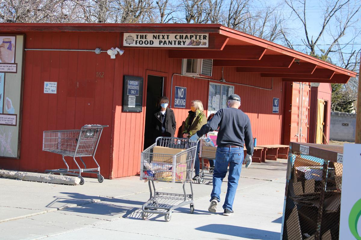 Process intensifies for volunteers at food pantries: COVID causes more work and double  the customers