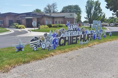 Police chief's wife prepares birthday surprise