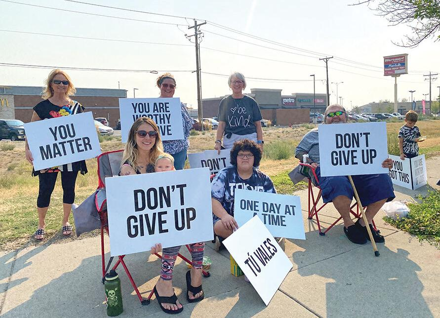 Malheur County Prevention Coalition, Juvenile Department spread Signs of Hope