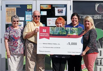 Fiddle fest nets $5,000 from Farmers Supply Cooperative