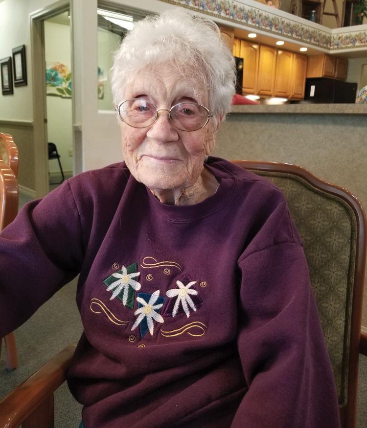 100th Birthday - Lezetta Hunter