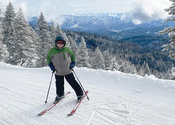 10-year-old skis all 20 Idaho ski areas in one season