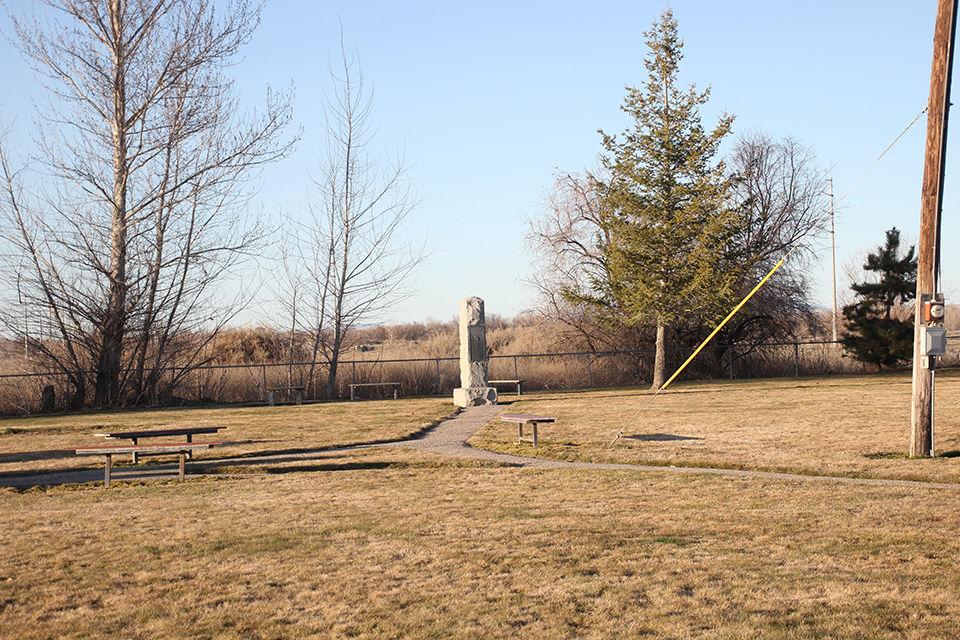 Ward Massacre monument 2