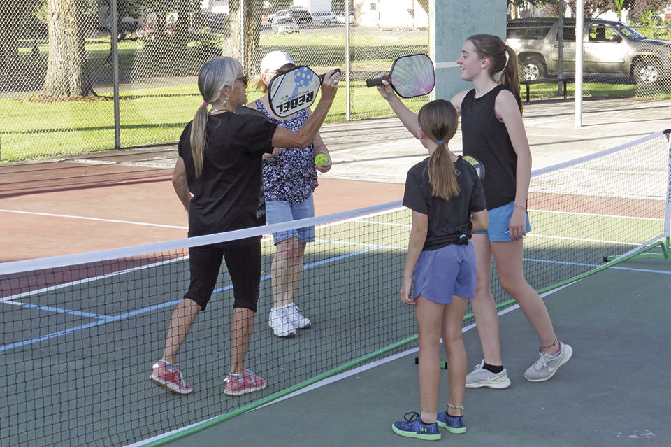 Pickleball debuts at Kiwanis Park